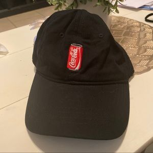 Coca Cola | black hat embroidered can
